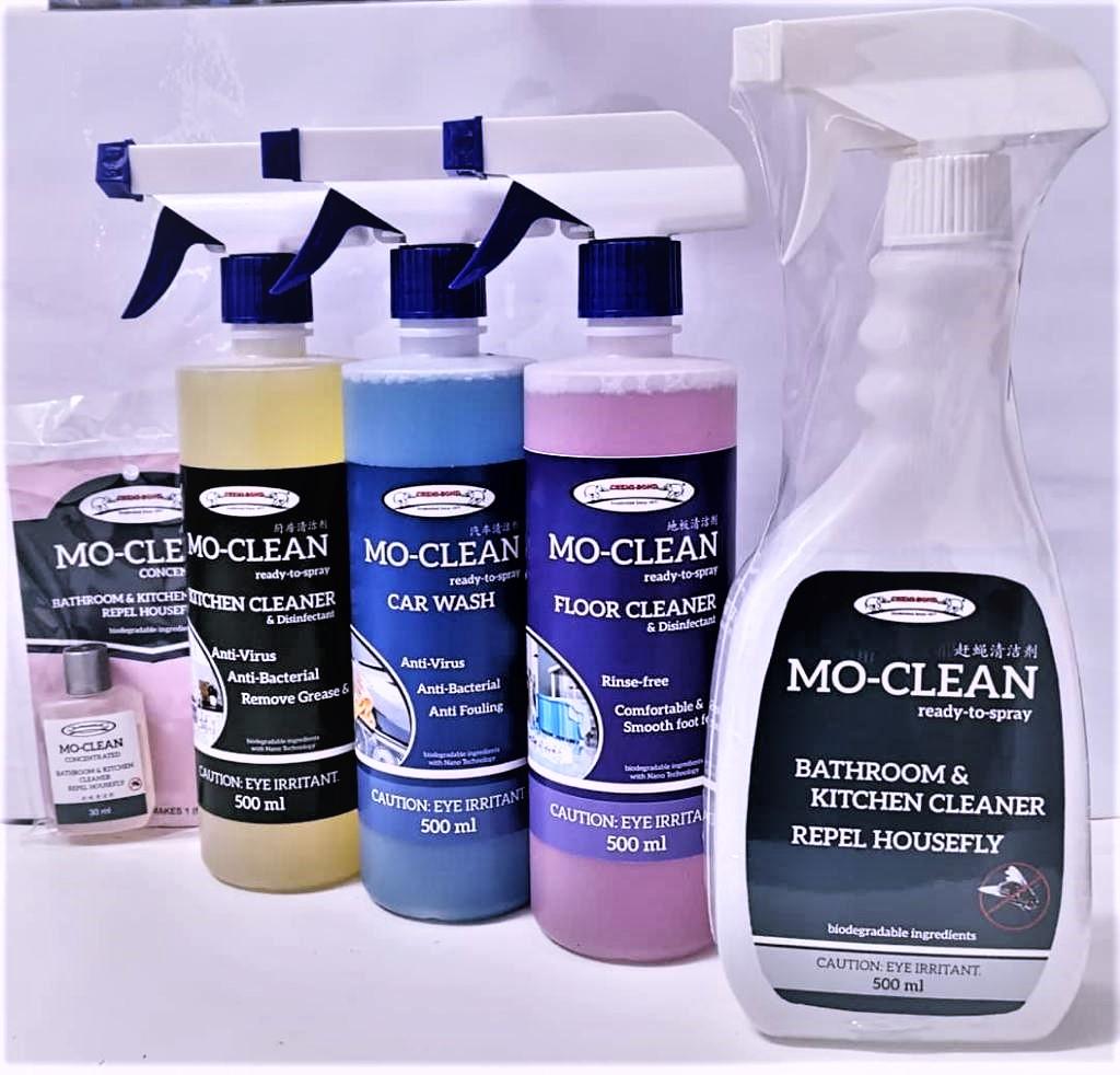 Chemi-Bond Mo-Clean Cleaner