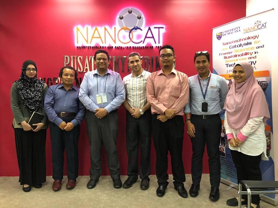 NANOVerify's Visit To NANOCAT